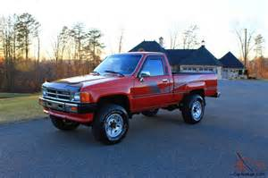 87 Toyota 4x4 87 Toyota 4x4 22r A C Free Shipping Time