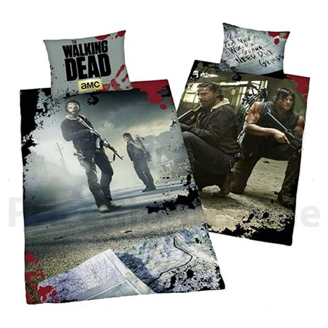 The Walking Dead Single Duvet Cover Bedding Set Rick Walking Dead Bed Set