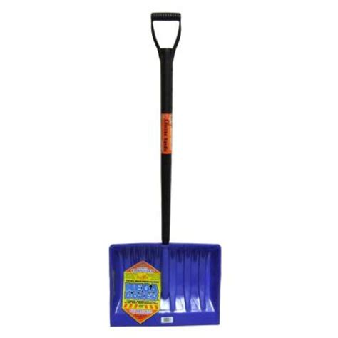 bigfoot 20 in mega dozer snow shovel with premium