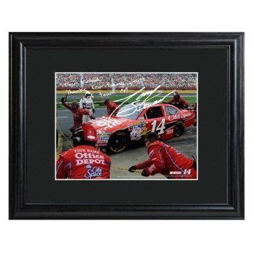 Personalized NASCAR Autographed Print Tony Stewart