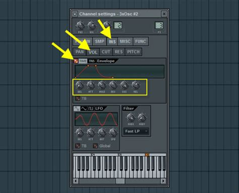 volume envelope pattern fl studio how to create a chill out lush pad in fl studio part 1