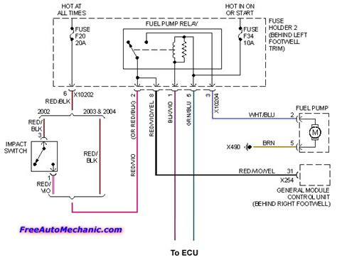 mini cooper fuel wiring diagram wiring diagram with
