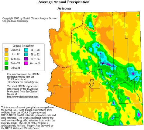 weather radar map arizona arizona precipitation map