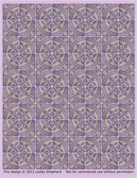 printable dollhouse floor tiles 146 best images about miniature tiles on pinterest