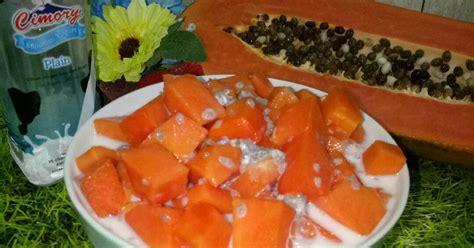 resep olahan pepaya enak  sederhana cookpad