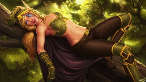 Alleria Windrunner By Personalami On Deviantart