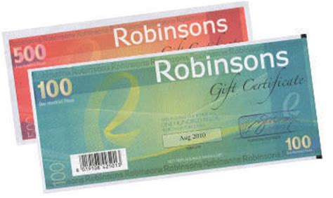 Robinsons May Gift Card - top 10 gift certificates to give and receive spot ph