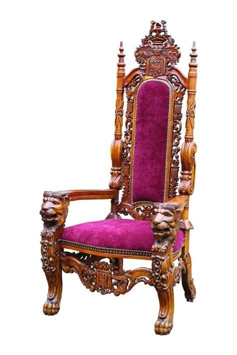 king furniture armchair basic elegance red velvet ornate carved kings chair