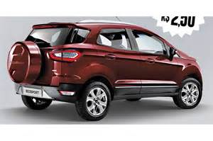 Ecosport Ford 2017 Ford Ecosport Facelift Rendered Looks Masculine