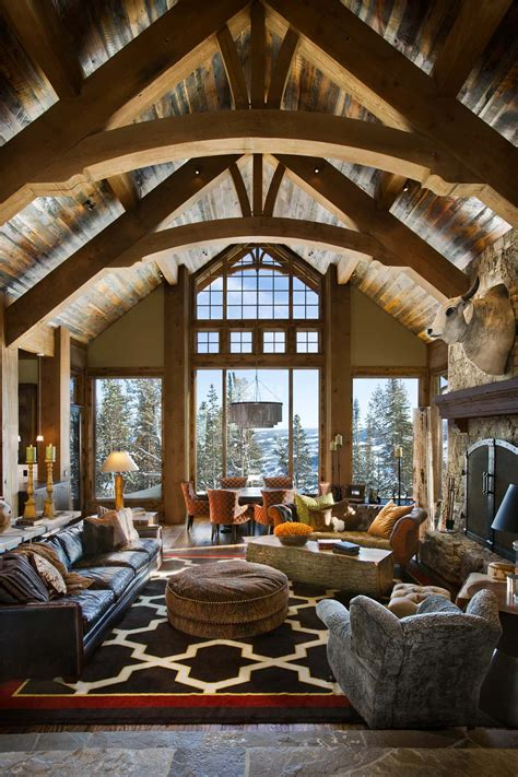 modern rustic enchanting modern rustic dwelling in the rugged mountains
