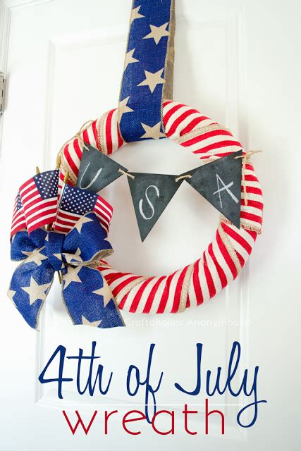 glorious patriotic wreaths  scrap shoppe