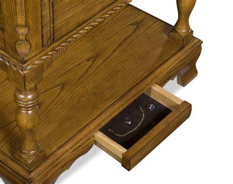 drawer compartment end table stashvault