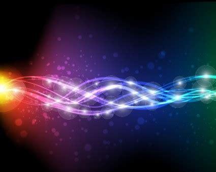 wallpaper bintang warna warni seni vektor abstrak neon vektor abstrak vektor gratis