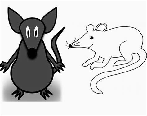 terbaru  gambar tikus kartun hitam putih gani gambar