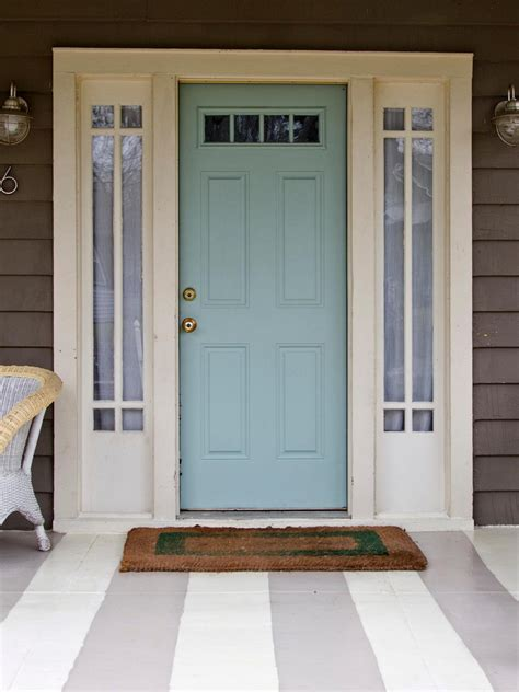 pictures of front doors blue front door for a warm and friendly house homestylediary