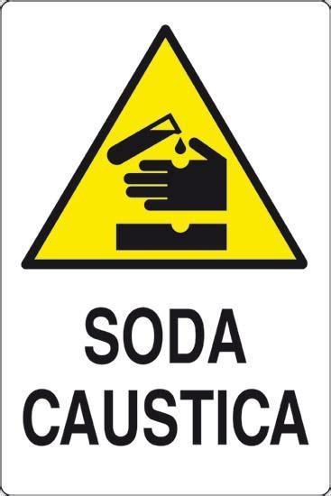 soda caustica alimentare cartello soda caustica formato 300x200