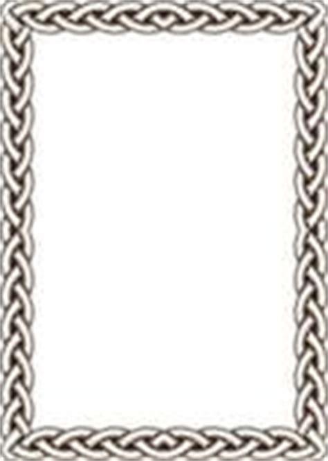 cornici celtiche clipart of celtic black braid border u11348402 search