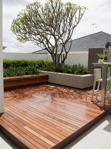 Wood Deck With Patio by Small Patio Design Ideas Wooden Decks Retaining Wall And