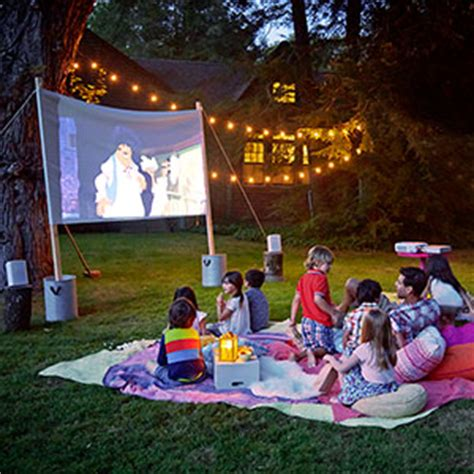 Backyard Science Dvd Bring The Movie Theater To Your Backyard This Summer