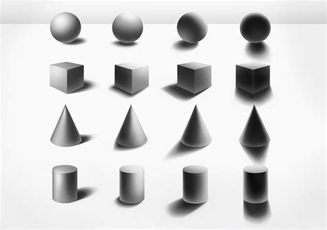 lshade shapes back to basics shading basic shapes by sjea on deviantart