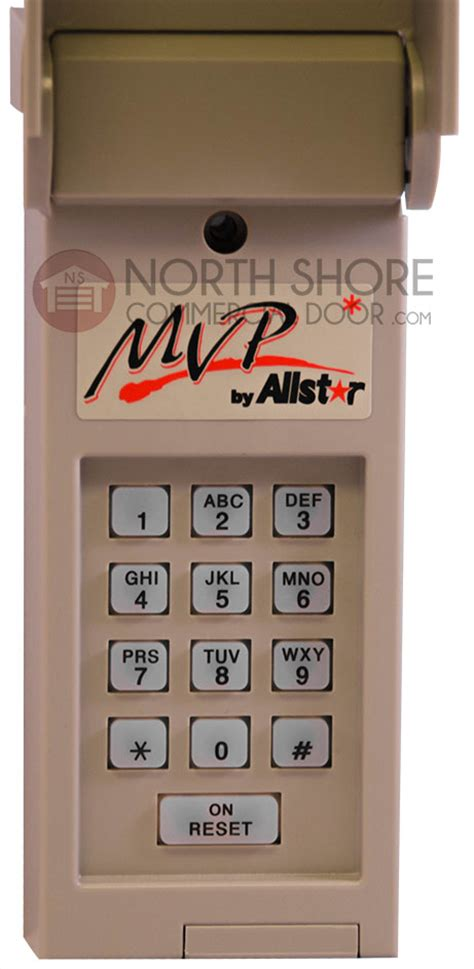 Allstar Garage Door Openers Allstar 110927 Mvp Wireless Keypad