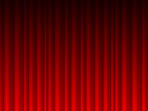 Navy Blue And White Drapes Red Curtains Vector Powerpoint Ppt Backgrounds Black