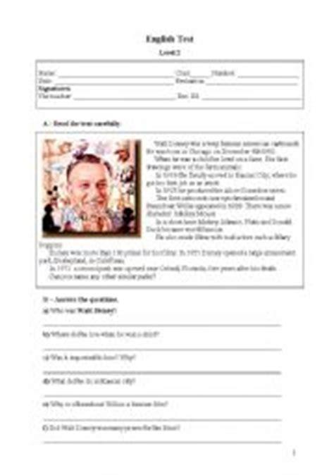 walt disney biography lesson plan english teaching worksheets walt disney