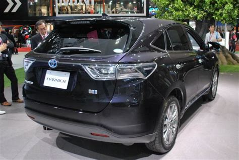 2015 toyota harrier 2015 toyota harrier engine specification and release date