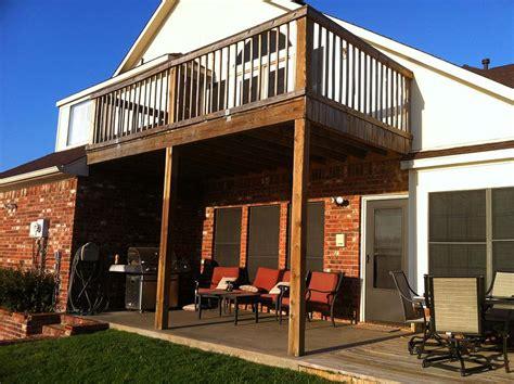 balcony patio simple balcony patio cover combo in madill oklahoma
