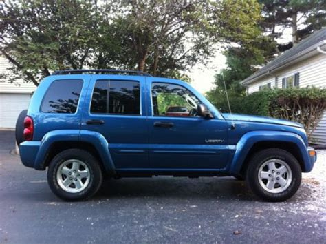 jeep liberty limited 2004 purchase used 2004 jeep liberty limited sport utility 4