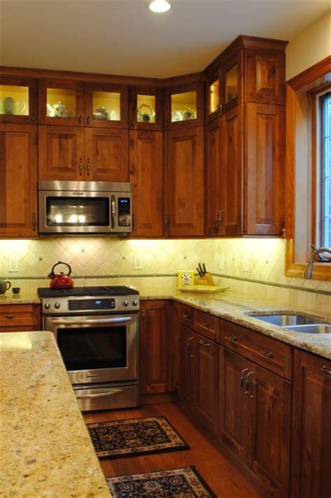 Rustic Birch Kitchen Cabinets Rustic Birch Kitchen Rustic Kitchen Philadelphia By Sterling Kitchen Bath