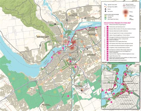 map of canada ottawa mapping the future of canada s capital canadian geographic
