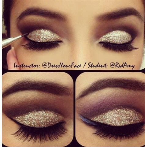 simple makeover for great gatsby easy and gorgeous cut crease by tamanna roashan makeup