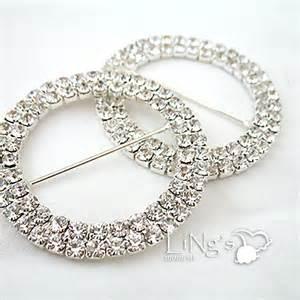 wedding chair sash buckles uk silver gold wedding chair sash a grade diamante buckle ebay