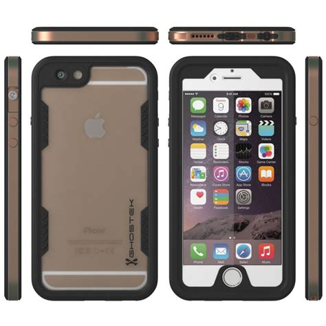 ghostek atomic 2 0 iphone 6s plus 6 plus waterproof gold