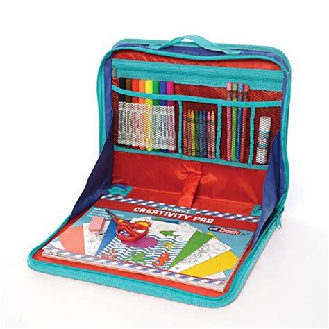 travel desk for travel activity kit writing desk color craft