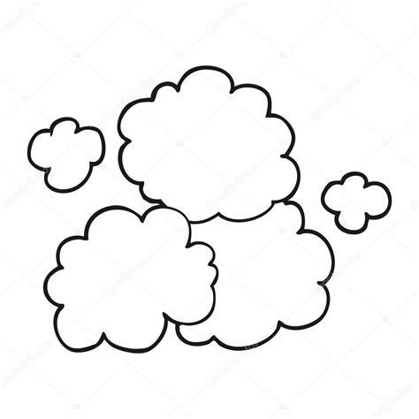 cartoon white black smoke cloud vector www pixshark com images