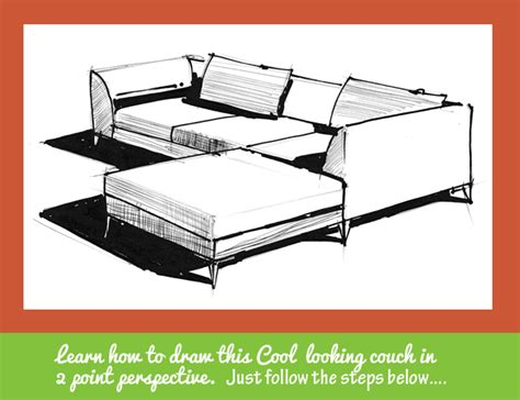 big point sofa sofa line drawing