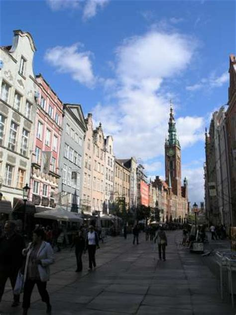 long street sightseeing gdansk