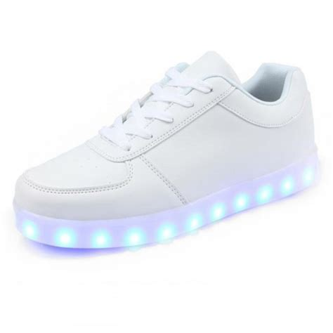 white light up shoes women s white low cut led light up shoes funny target