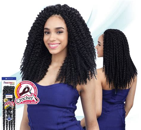latch hook hair weave freetress crochet braid pixel braid 12 inch