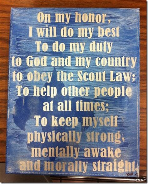 Scout Motto by Scout Motto Scouts