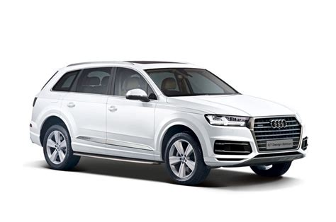 audi q7 limited edition audi q7 design edition and a6 design edition launched in india