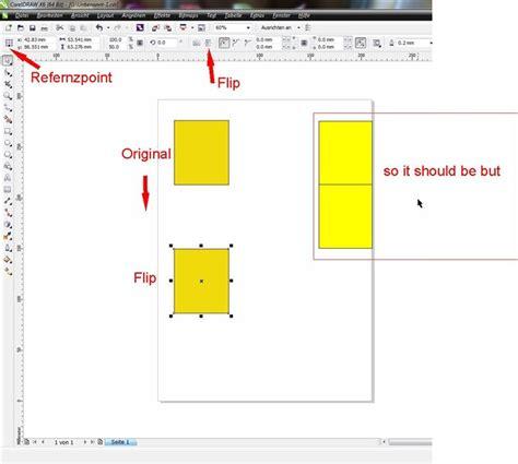 Corel Draw X5 Mirror | mirror tool moves object coreldraw x6 coreldraw