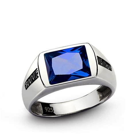 Cincin Black Sapphire 65 the 25 best mens gemstone rings ideas on