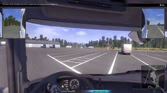 Scania Truck Driving Simulator Wheel Support Scania Truck Driving Simulator