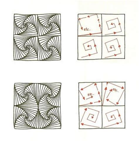 zentangle pattern generator 605 best images about tangles on pinterest