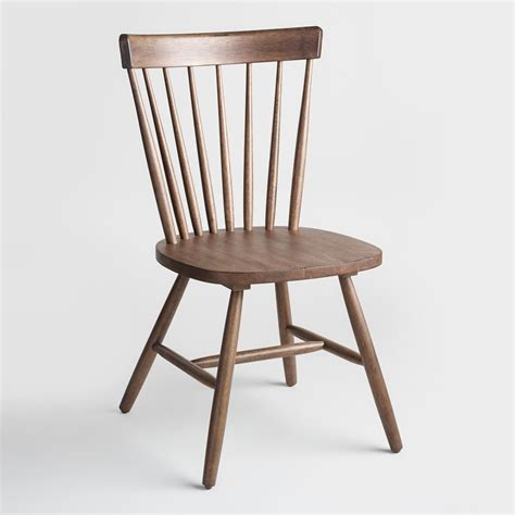 Winsor Chair by Walnut Brown Wood Stafford Chairs Set Of 2 World