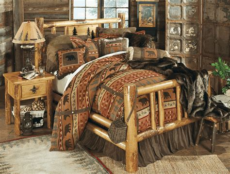 Log Furniture Bedroom Sets Rocky Mountain Log Bedroom Collection