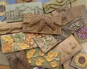 Elk Lighting Wall Sconces Handmade Ceramic Tiles Animal Pinecone Flower And Leaf
